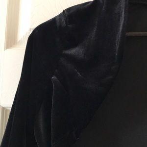 rickis Sweaters - NWOT Black velvet bolero shrug cardigan formal